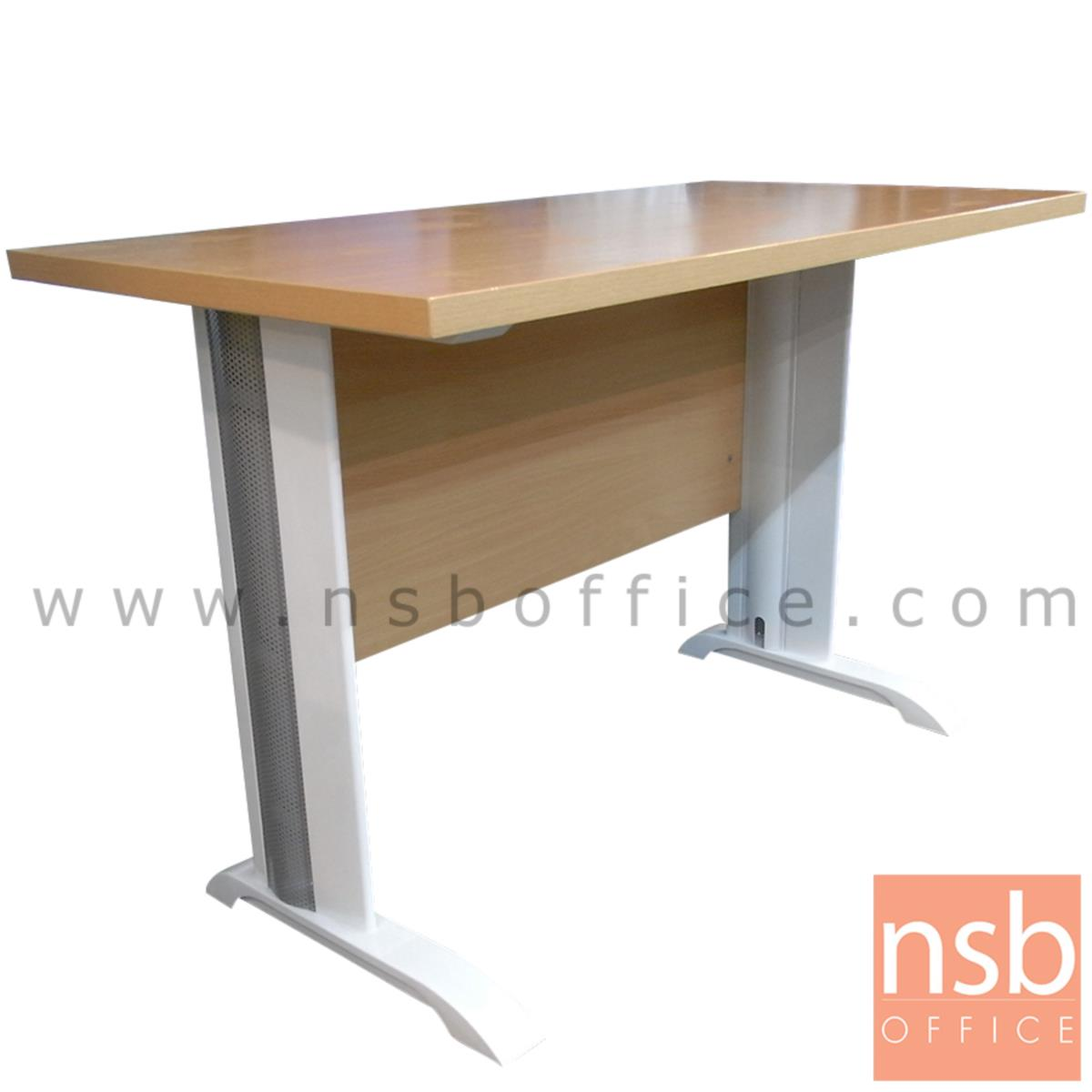 A18A012:โต๊ะทำงาน รุ่น Knightshayes (ไนท์เฮย์ส) ขนาด 120W ,135W ,150W ,160W ,180W (60D, 75D, 80D) cm.  เมลามีน