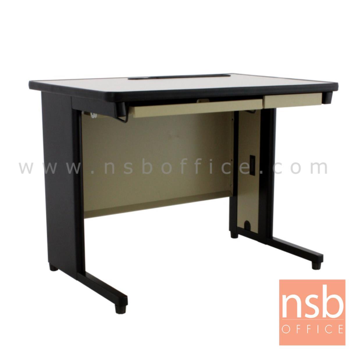 E28A139:โต๊ะคอมพิวเตอร์ รุ่น TEN-70120 ขนาด 120W*70D cm. โครงเหล็ก พับขึ้นรูป