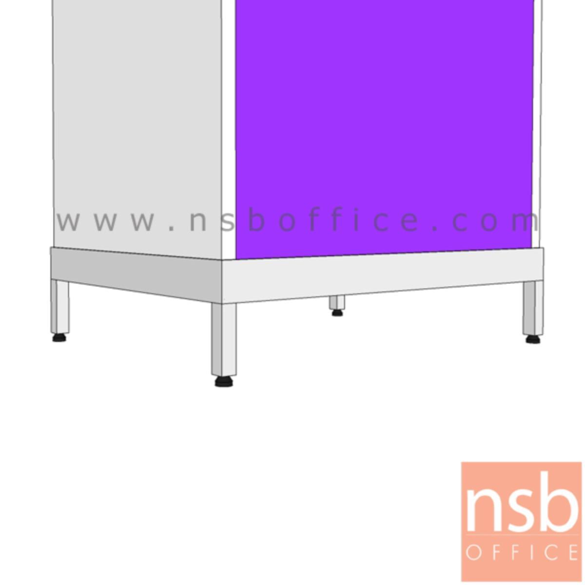 E01A006:ฐานรอง 4 ขาตู้เหล็กแม่บ้าน (สำหรับตู้ขนาด 60W*46.8D cm)
