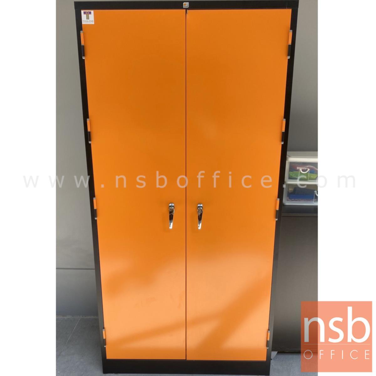 ตู้เก็บเครื่องมือช่าง 2 บานเปิดสูง (ด้านใน 2 ลิ้นชัก) มีรูแขวนอุปกรณ์ MCB720