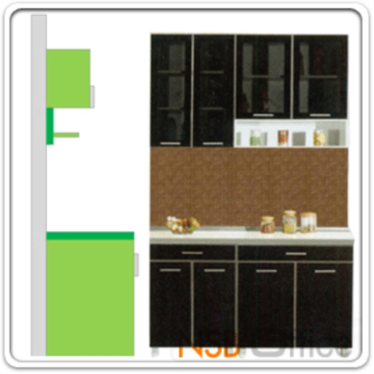 ชุดตู้ครัว พร้อมตู้แขวน รุ่น Darigold-140H  พร้อมตู้แขวนลอย