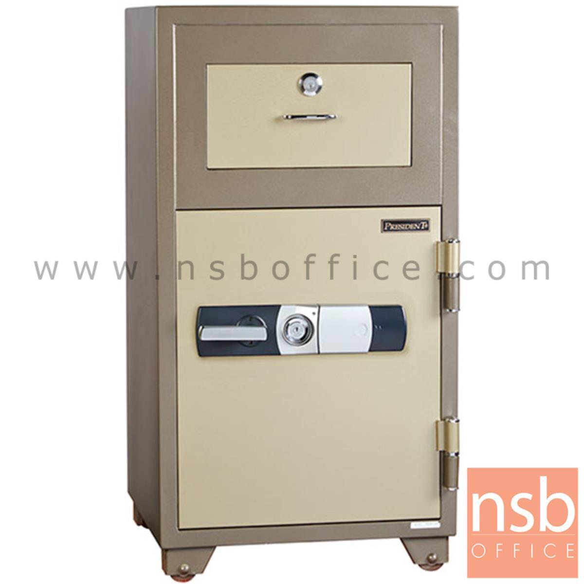 F05A076:ตู้เซฟนิรภัยชนิดดิจิตอล รุ่น PRESIDENT-ND-200D  มี 2 กุญแจ 1 รหัส (รหัสใช้กดหน้าตู้)
