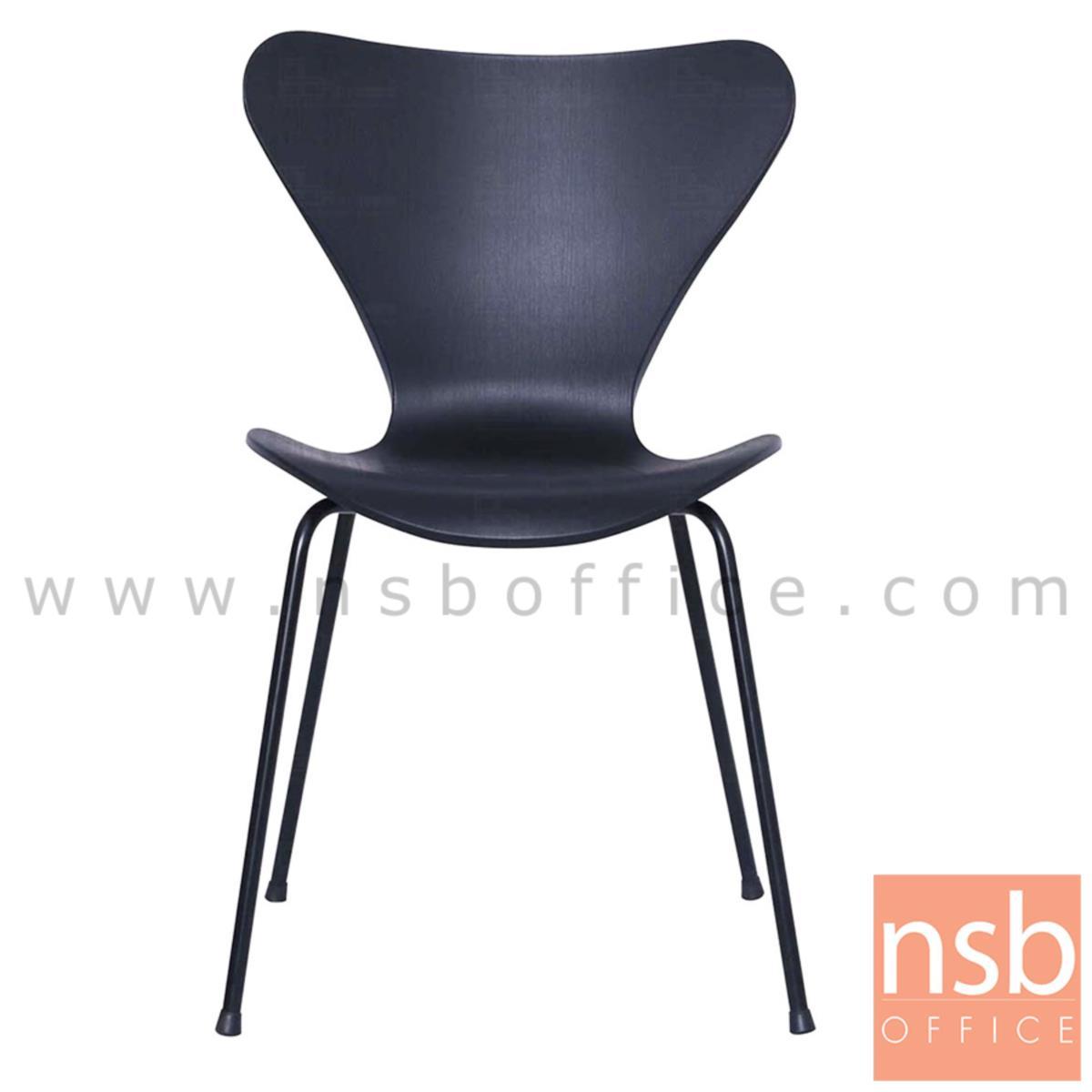 เก้าอี้โมเดิร์นเฟรมโพลี่ รุ่น Ghana (กาน่า)  โครงขาเหล็ก
