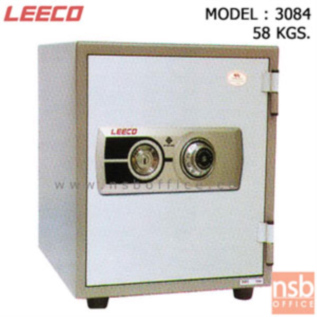 F02A047:ตู้เซฟนิรภัย 58 กก.(แนวตั้ง) ลีโก้ รุ่น 3084 มี 1 กุญแจ 1 รหัส