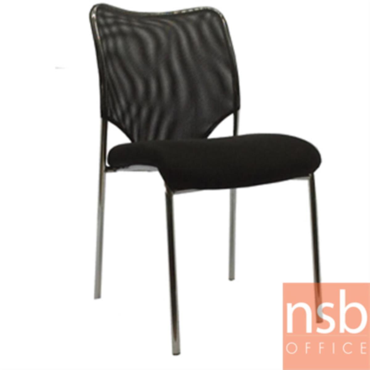 B05A015:เก้าอี้อเนกประสงค์ยูโร  ขนาด 85H cm.  ขาเหล็กชุบโครเมี่ยม