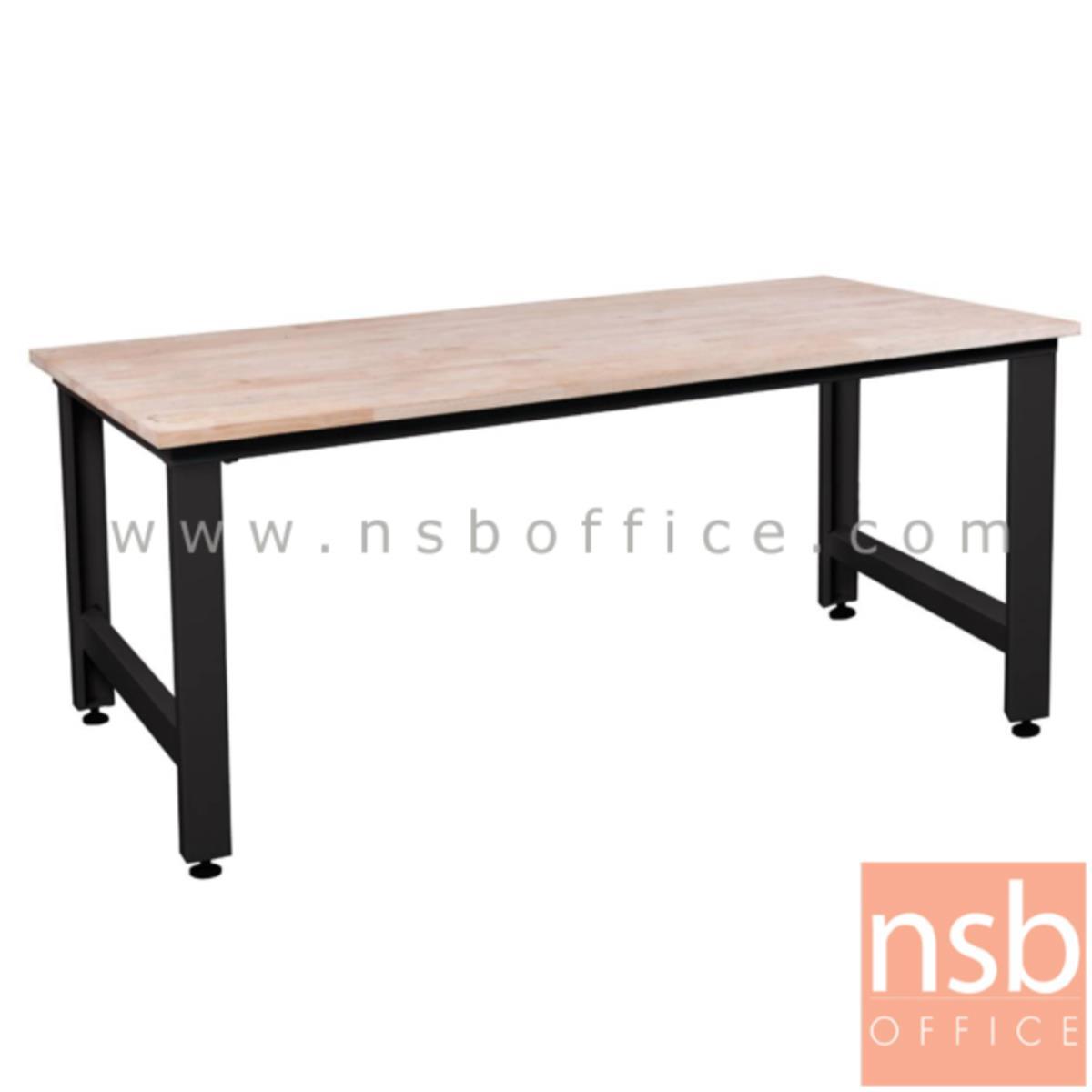 E08A073:โต๊ะช่าง TOP ไม้ ขาเหล็ก รุ่น MTD60