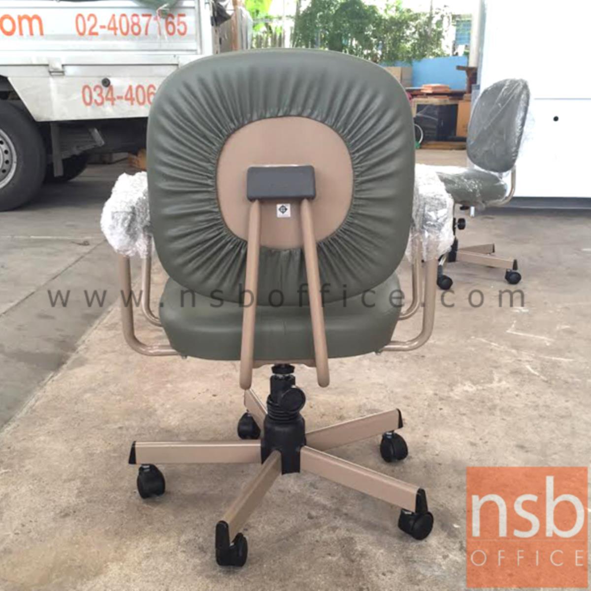 เก้าอี้สำนักงาน รุ่น CH-400  ขาเหล็กชุบโครเมี่ยม