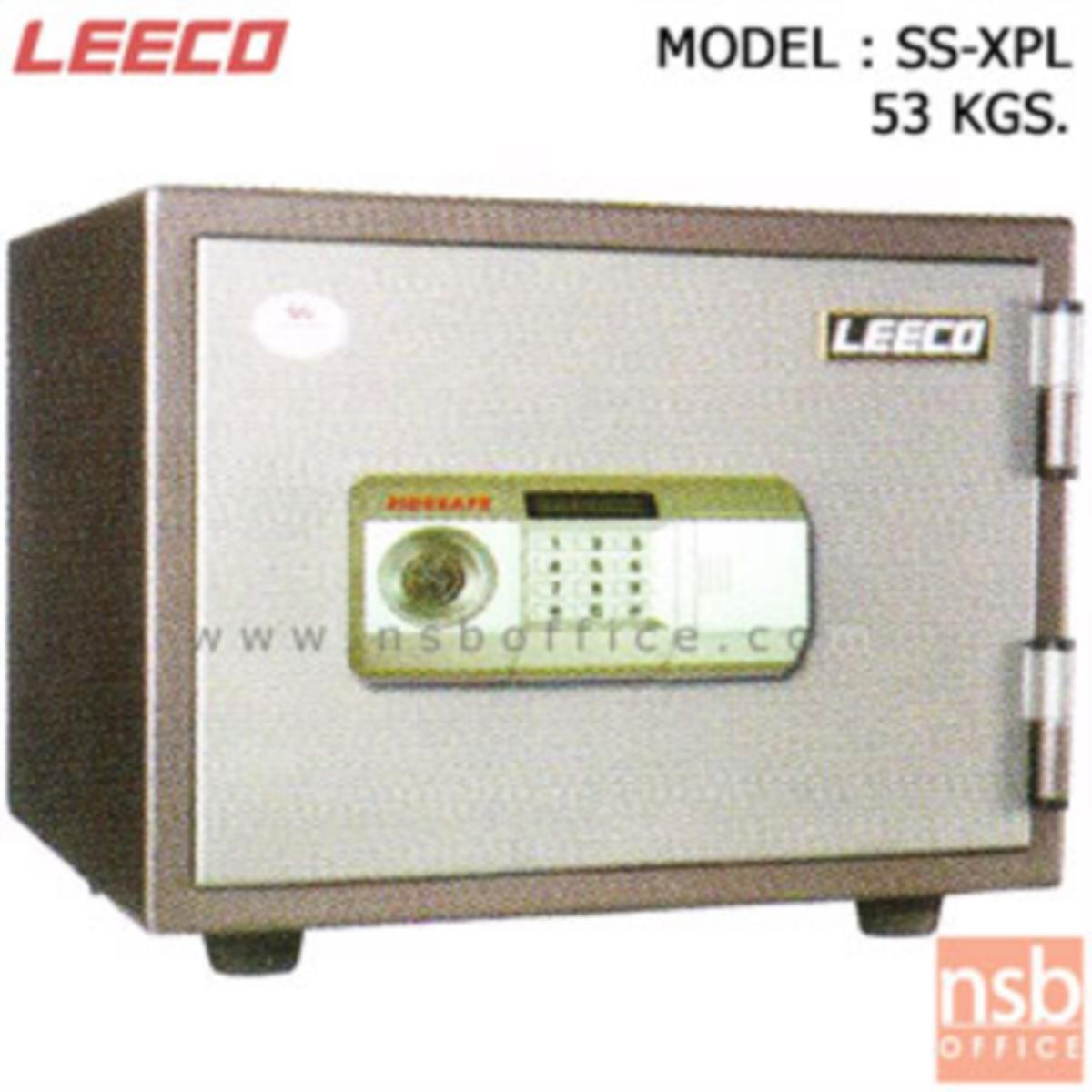 F03A002:ตู้เซฟดิจิตอล 53 กก. (1 รหัสกด / 1 ปุ่มหมุนบิด) LEECO SS-XPL