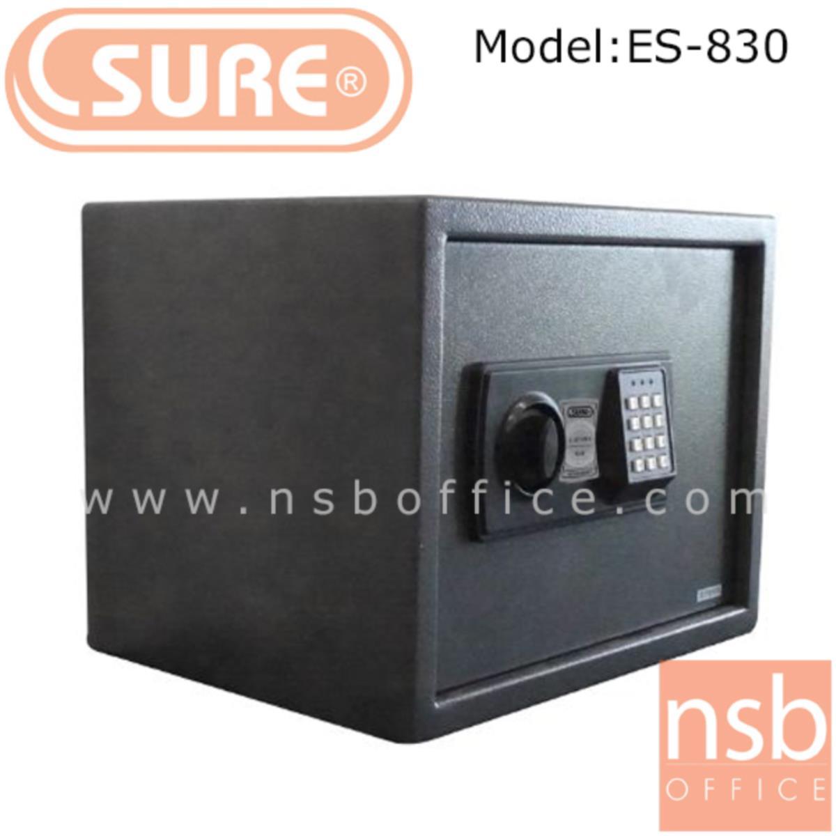 F03A016:ตู้เซฟดิจตอล SR-ES830 น้ำหนัก 11 กก. (1 รหัสกด / ปุ่มหมุนบิด)