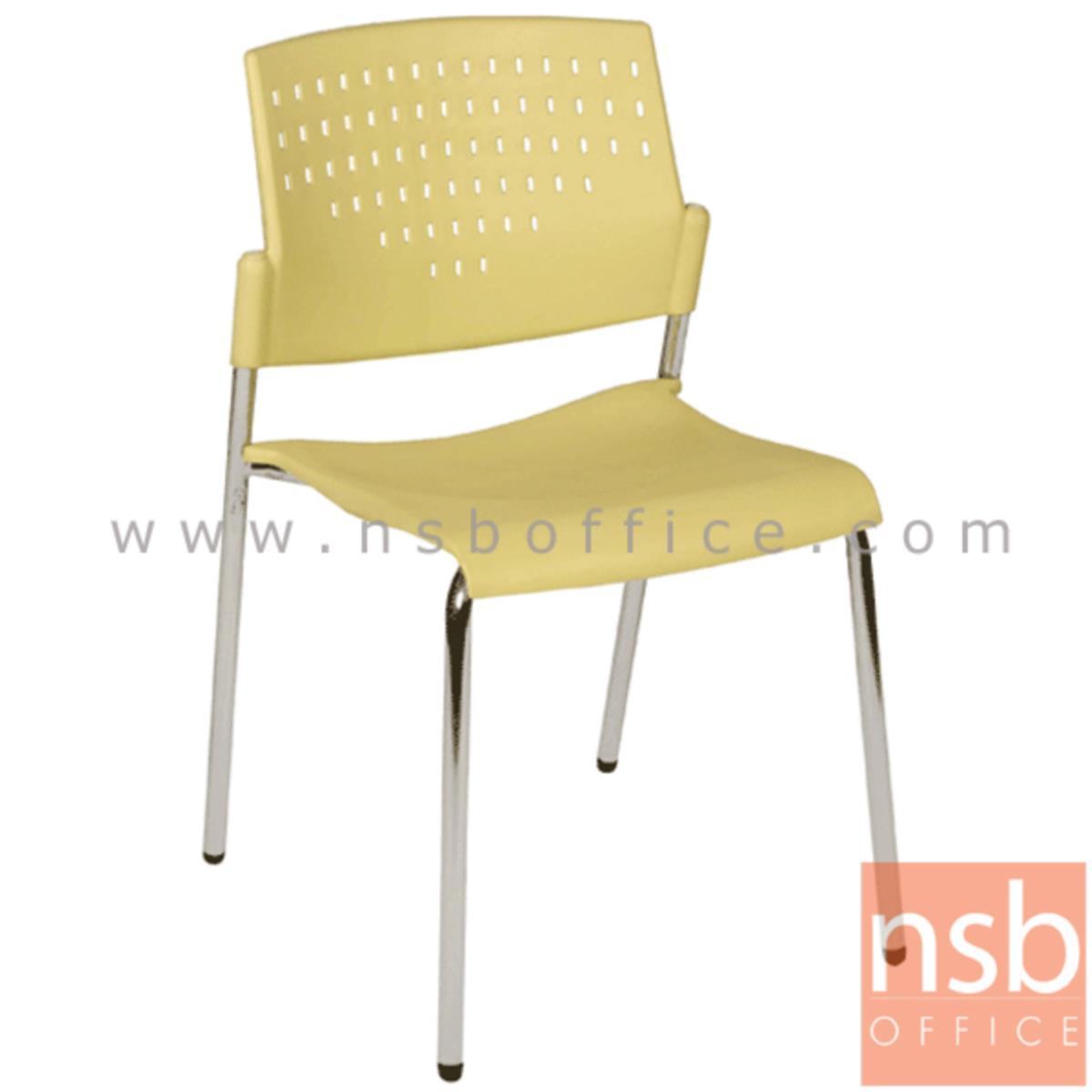 เก้าอี้อเนกประสงค์เฟรมโพลี่ รุ่น A1-216  ขาเหล็กชุบโครเมี่ยม