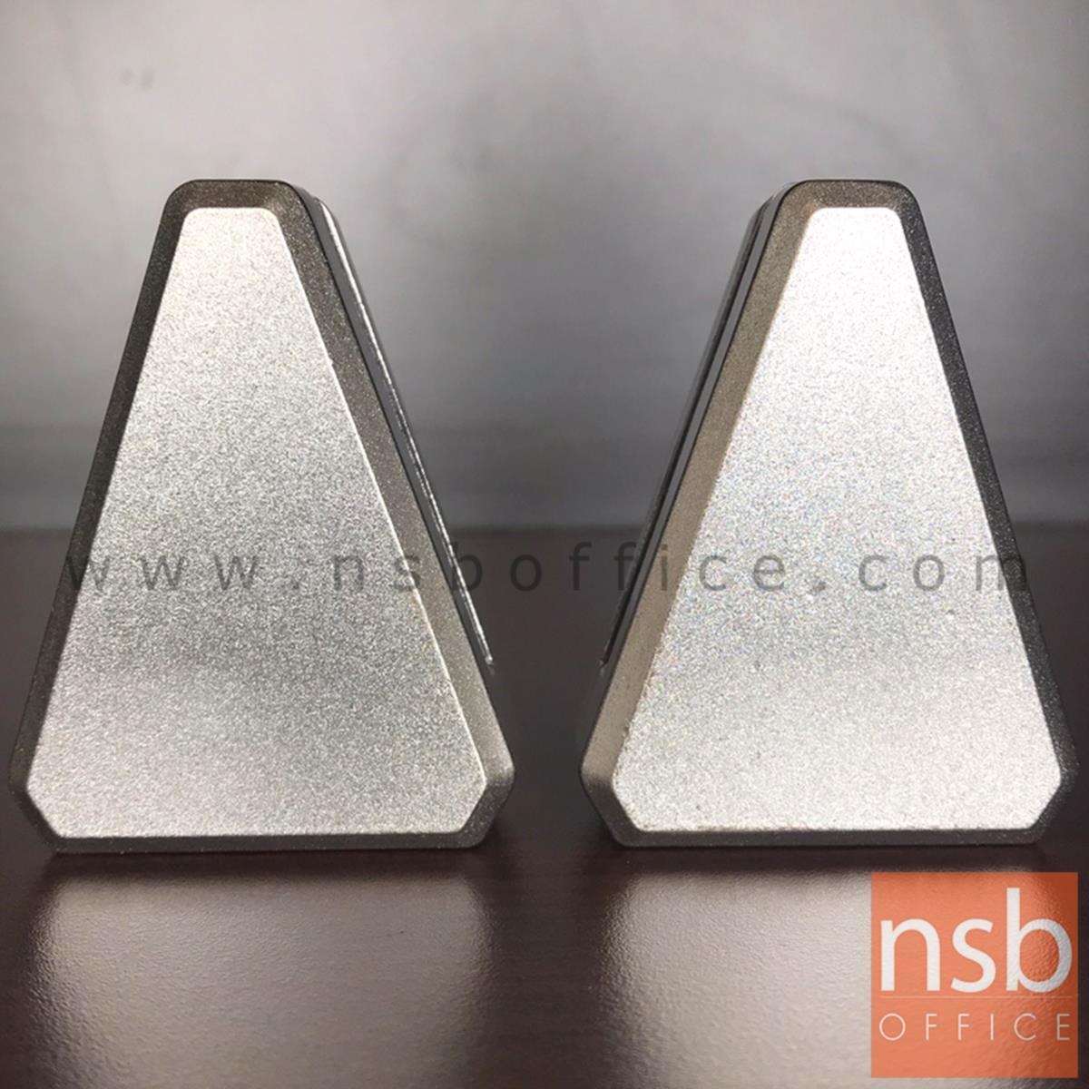 J01A018:ตัวหนีบ miniscreen แบบเจาะ รุ่น FERRARI (เฟอรารี่) ทรงสามเหลี่ยมใหญ่พิเศษ