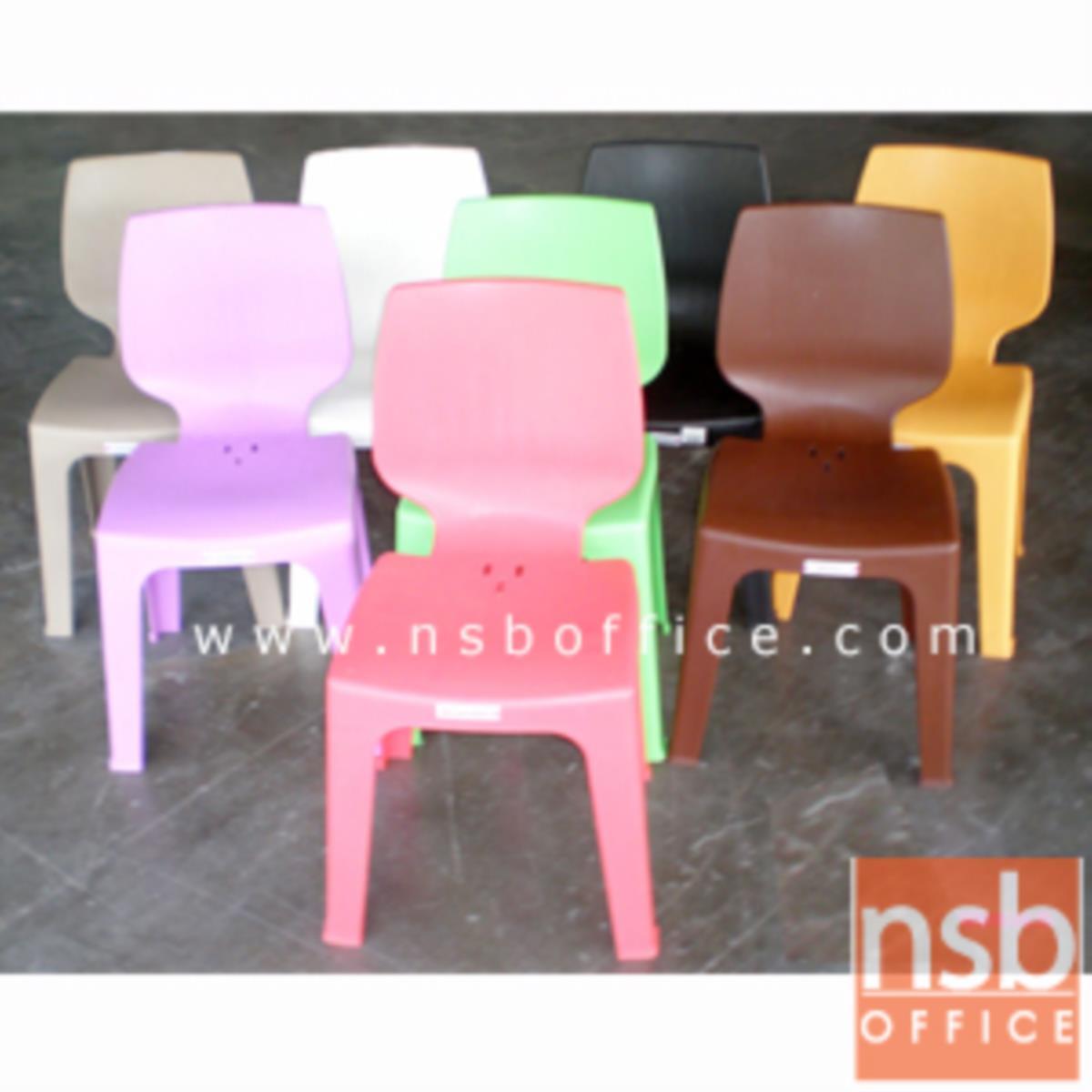 เก้าอี้พลาสติก รุ่น CD-MD-02 ซ้อนเก็บได้ (พลาสติกเกรด A)