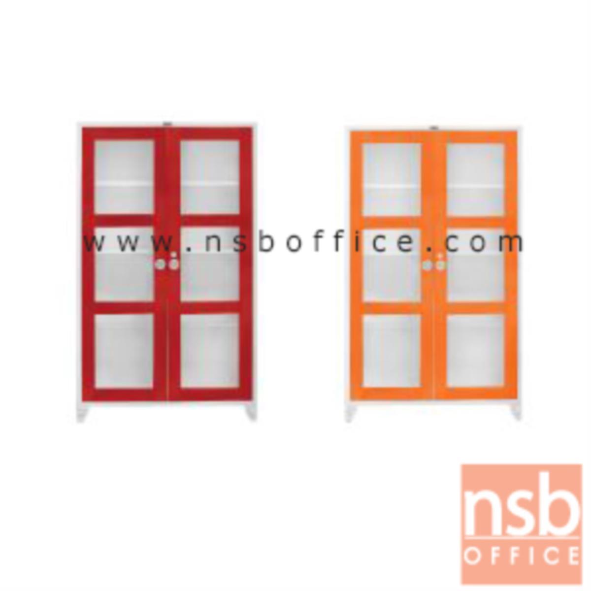 ตู้สองบานเปิดกระจกสูง 150 CM. รุ่น BC-150
