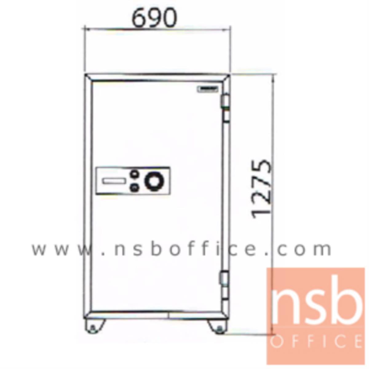 ตู้เซฟนิรภัยชนิดหมุน 295 กก. รุ่น PRESIDENT-SB60 มี 2 กุญแจ 1 รหัส (รหัสใช้หมุนหน้าตู้)