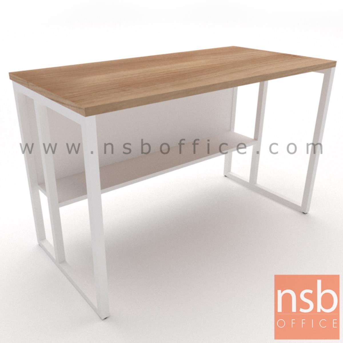 โต๊ะทำงานโล่งทรงสีเหลี่ยม รุ่น Lavina (ลาวิน่า) ขนาด 80W ,120W ,135W, 150W ,160W ,180W cm. ขาเหล็กกล่อง