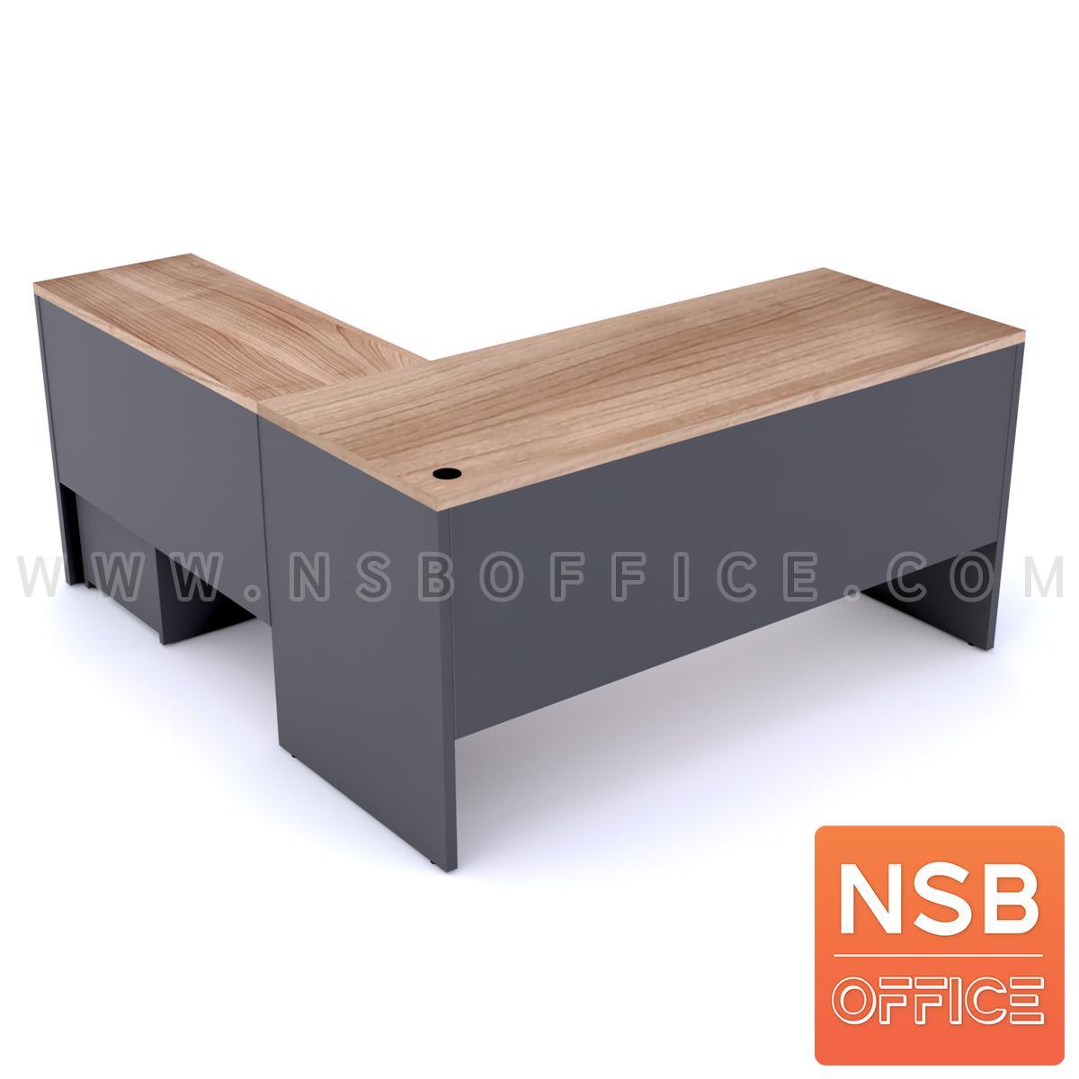 A16A086:โต๊ะทำงานตัวแอล รุ่น Orianna (โอเรียนน่า) ขนาด 150W*160W/180W*160/150W*175W/180W*175 cm.