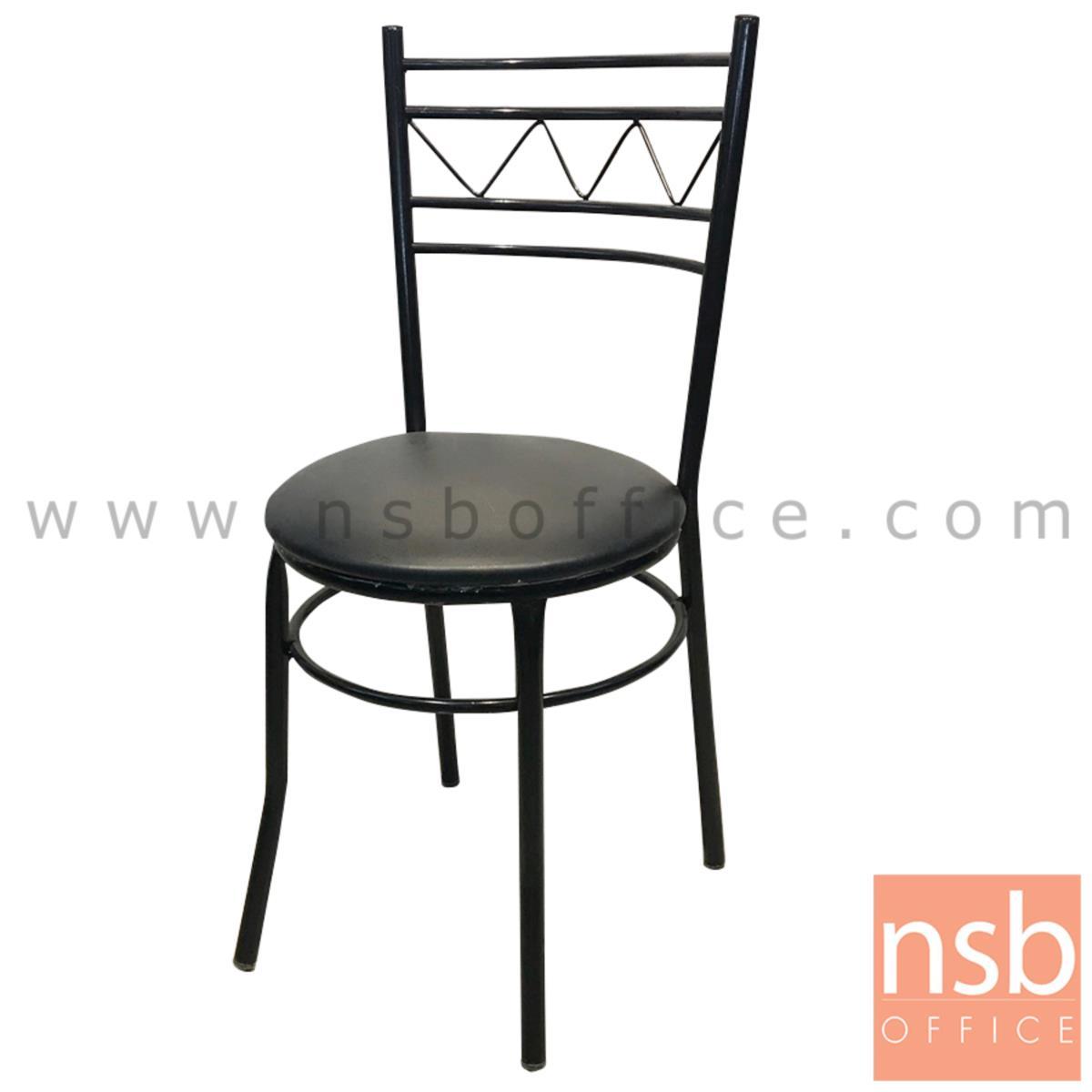 B20A105:เก้าอี้อเนกประสงค์ รุ่น IXORA (ไอโซร่า)  ขาเหล็กพ่นดำ