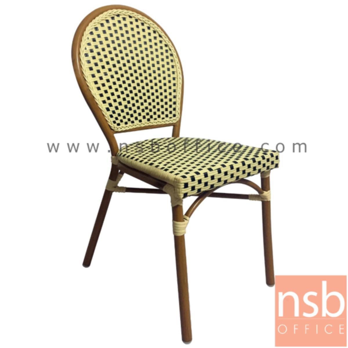 เก้าอี้สนามหวายเทียมสาน รุ่น General lite ไม่มีท้าวแขน (ใช้กับโต๊ะหวายฯ รุ่น G08A235)
