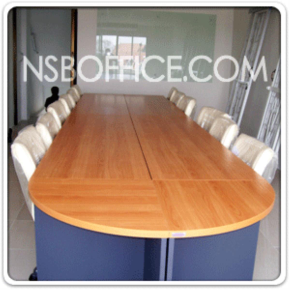 โต๊ะเข้ามุมทรงโค้ง รุ่น Sky-02 ขนาด R60 cm.  เมลามีน