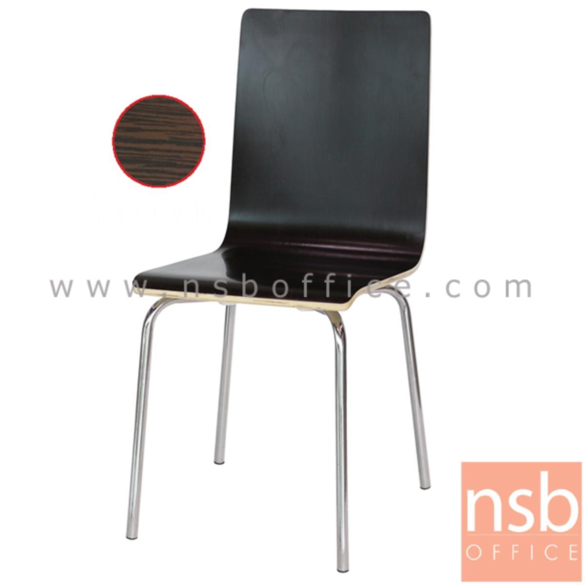 เก้าอี้อเนกประสงค์ไม้ดัด รุ่น Fallon (แฟลลอน)  ขาเหล็กชุบโครเมี่ยม