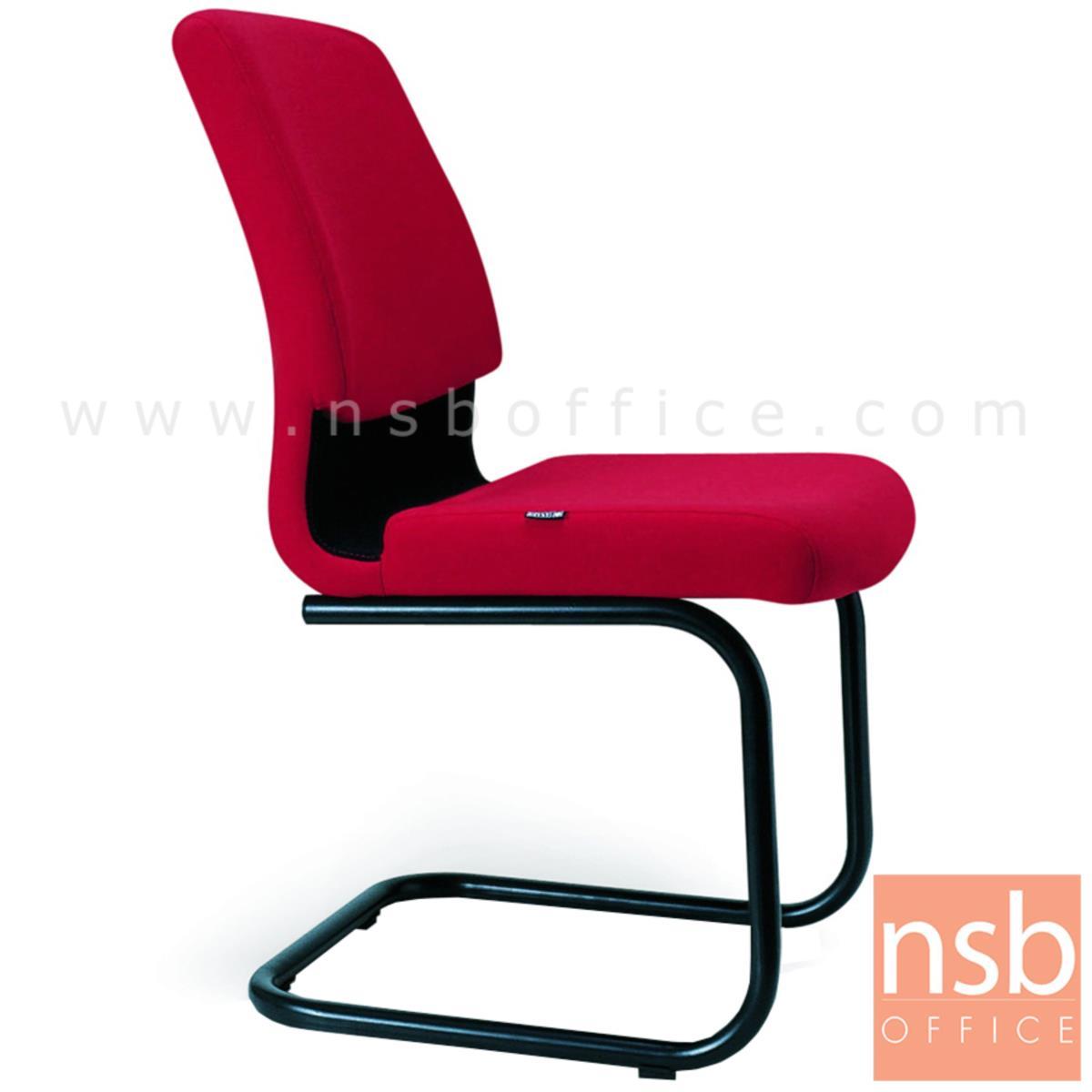 B04A152:เก้าอี้รับแขกขาตัวซี รุ่น Harvard (ฮาร์เวิร์ด)  ขาเหล็กพ่นดำ