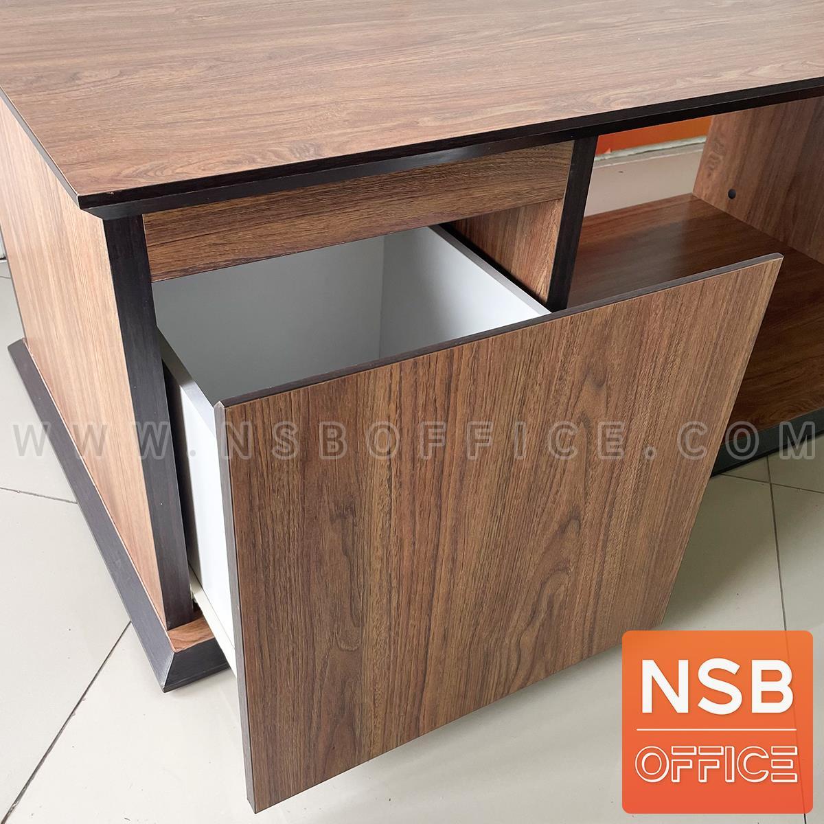 โต๊ะกลางไม้ รุ่น Sandvick (แซนวิค) ขนาด 120W*60D cm. มีลิ้นชัก