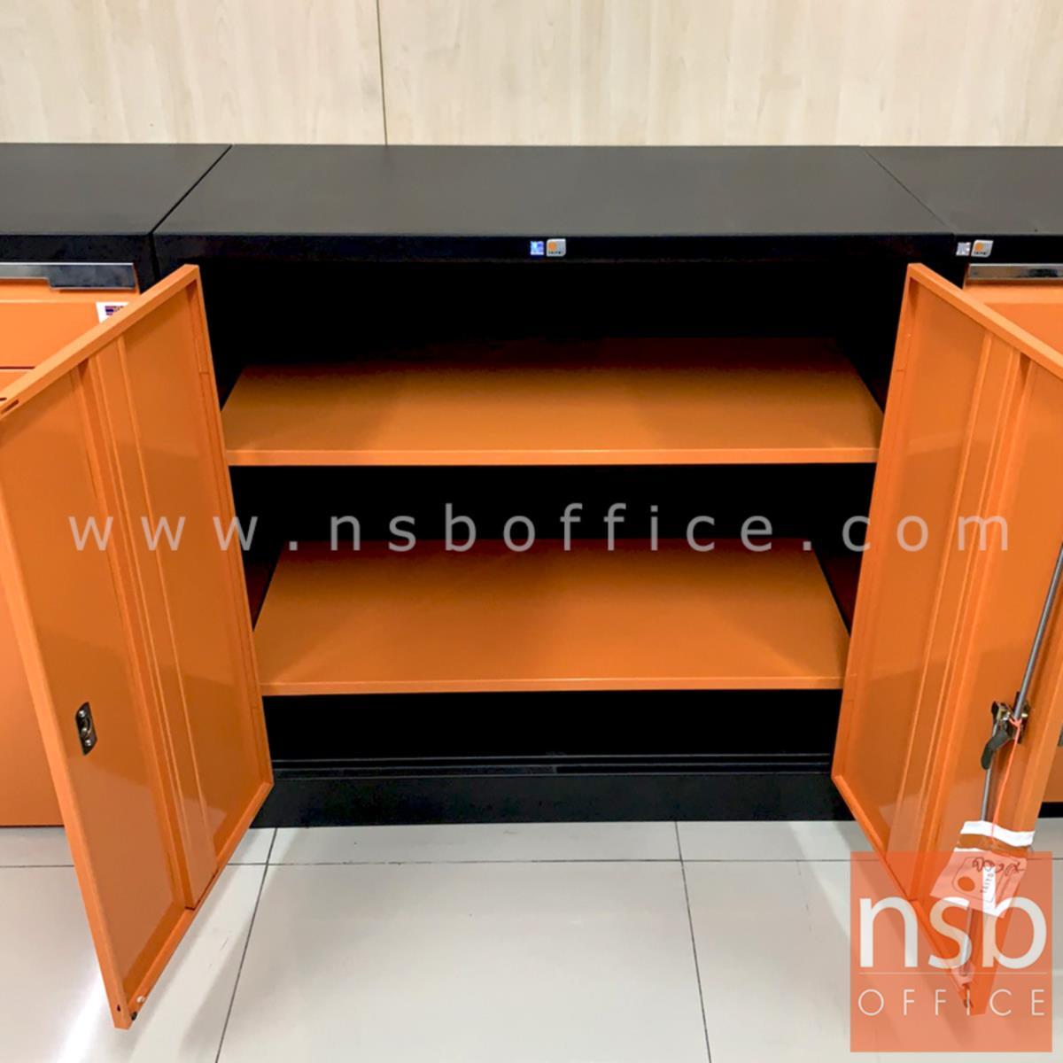 ตู้เก็บเครื่องมือช่าง 2 บานเปิดเตี้ย รุ่น MCB36 ขนาด 91.6W*45.7D*90H cm.