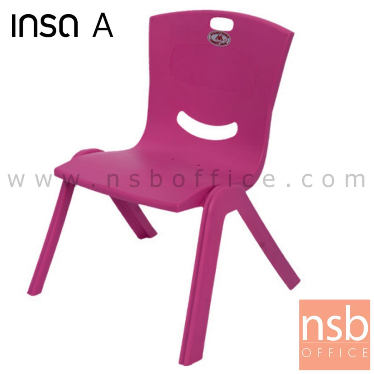 B10A067:เก้าอี้พลาสติกสำหรับเด็ก รุ่น BEBY-TEDDY_CHAIR (พลาสติกเกรด A)