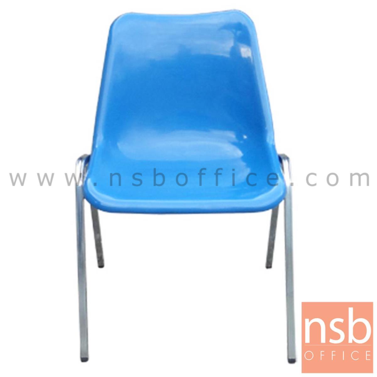 B05A081:เก้าอี้อเนกประสงค์เฟรมโพลี่  รุ่น TY-CP02P ขาเหล็ก