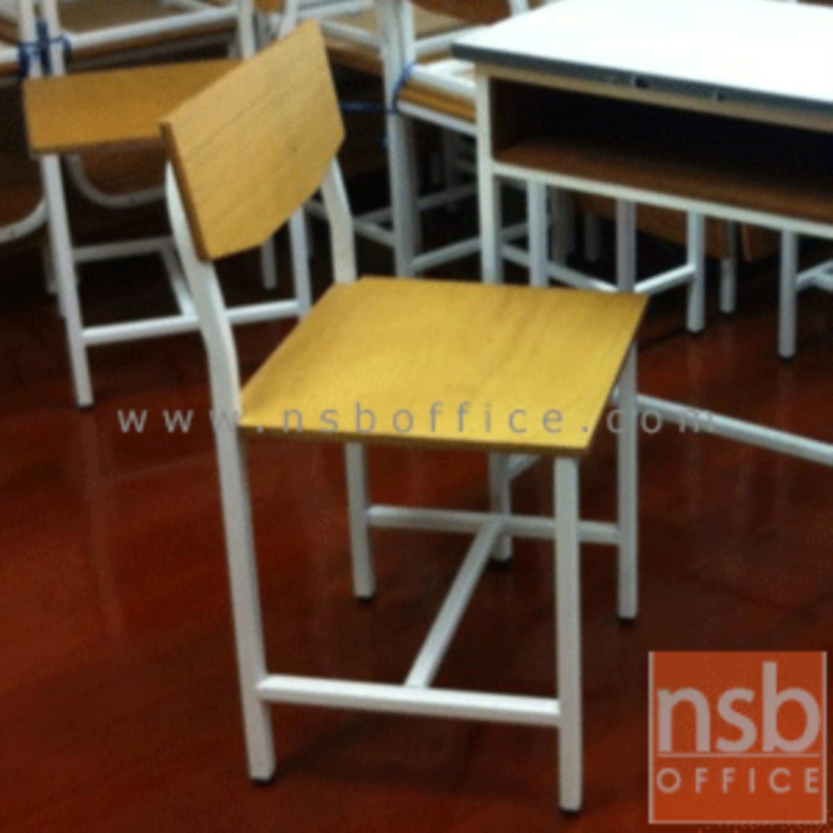 ชุดโต๊ะและเก้าอี้นักเรียน   ระดับอนุบาล ประถม มัธยม  โครงเหล็กสีขาว