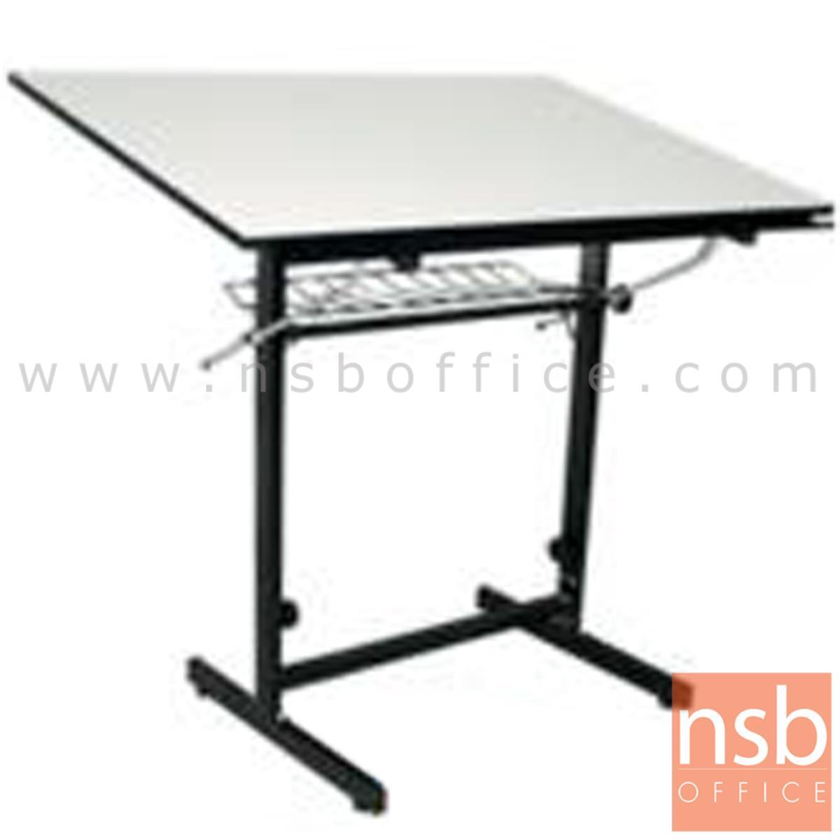 E06A018:โต๊ะเขียนแบบ 90W*60D*95.3H cm. ปรับองศาได้ มีตะแกรงข้างใต้  รุ่น DT-6090