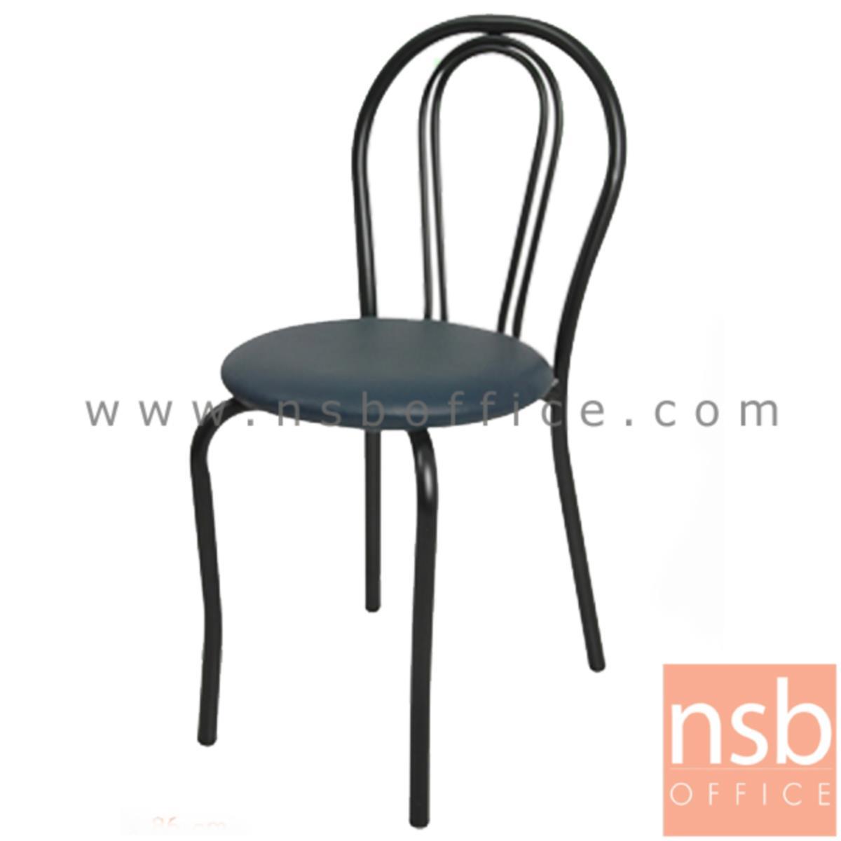 B20A043:เก้าอี้อเนกประสงค์เหล็ก รุ่น FRESHY-BB  ขาเหล็กพ่นดำ