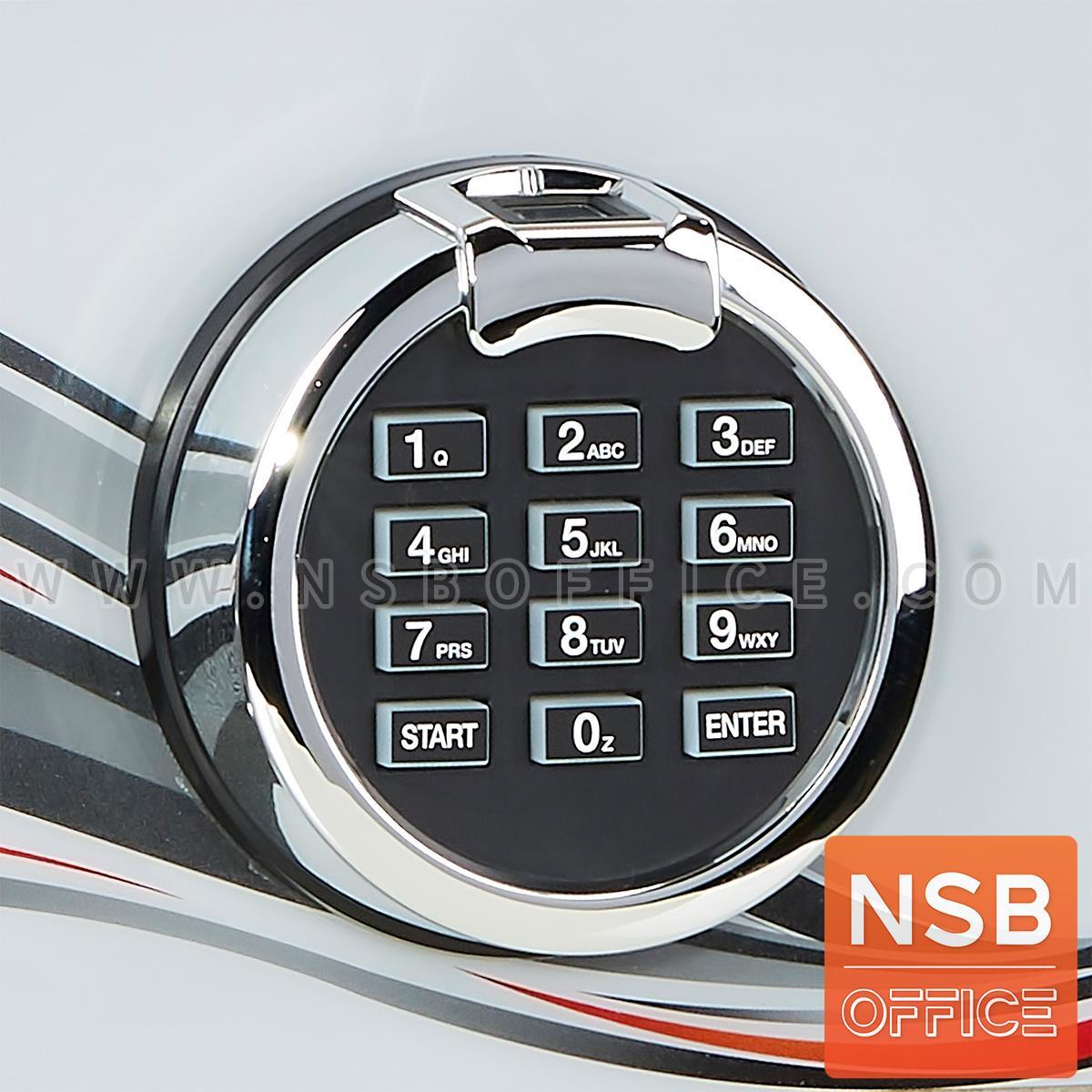 ตู้เซฟนิรภัยดิจิตอลระบบสแกนนิ้วมือ 105 กก.  รุ่น PRESIDENT-SMDF 1 กุญแจ 1 รหัส