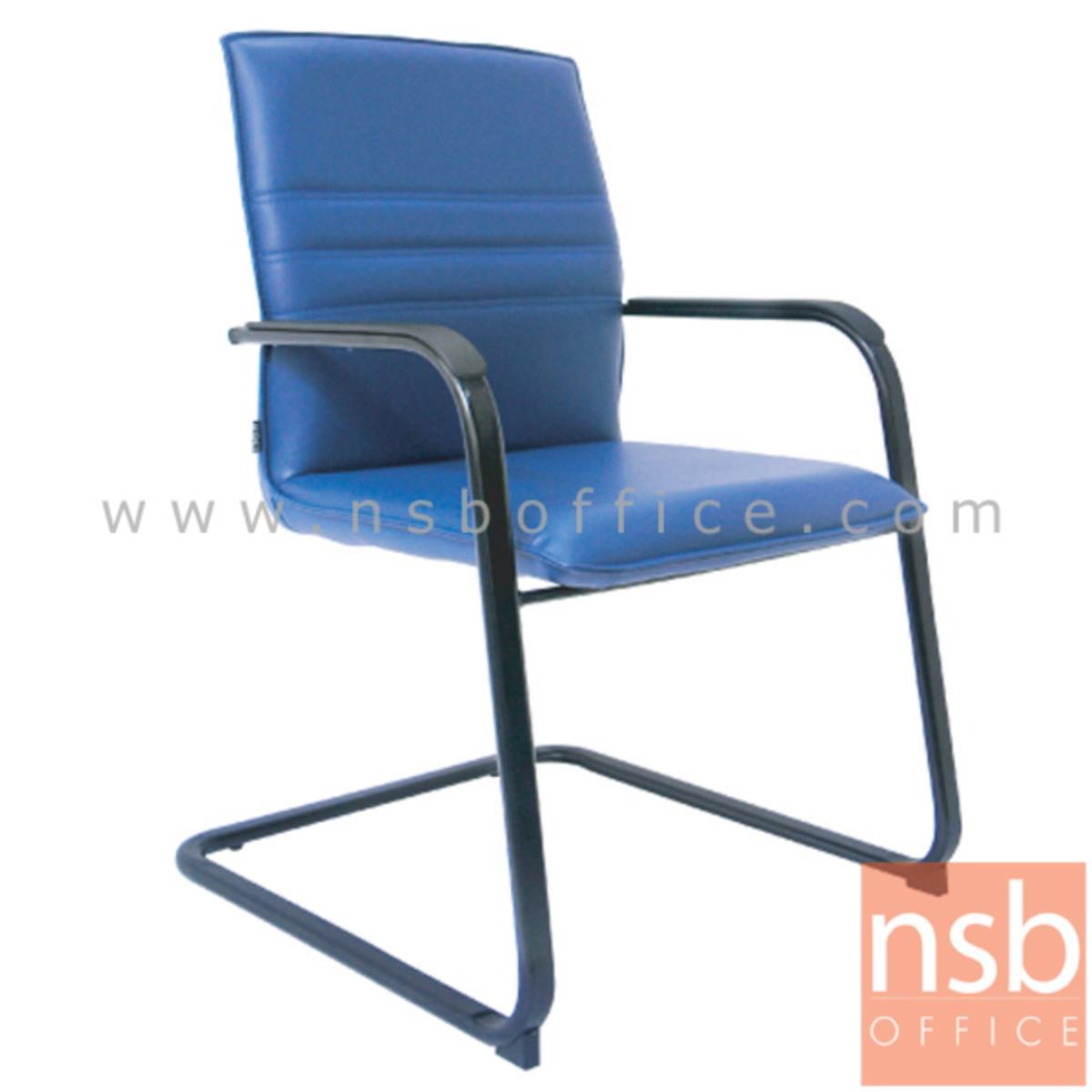 B04A079:เก้าอี้รับแขกขาตัวซี รุ่น Electro (อีเล็คโตร) ขาเหล็ก