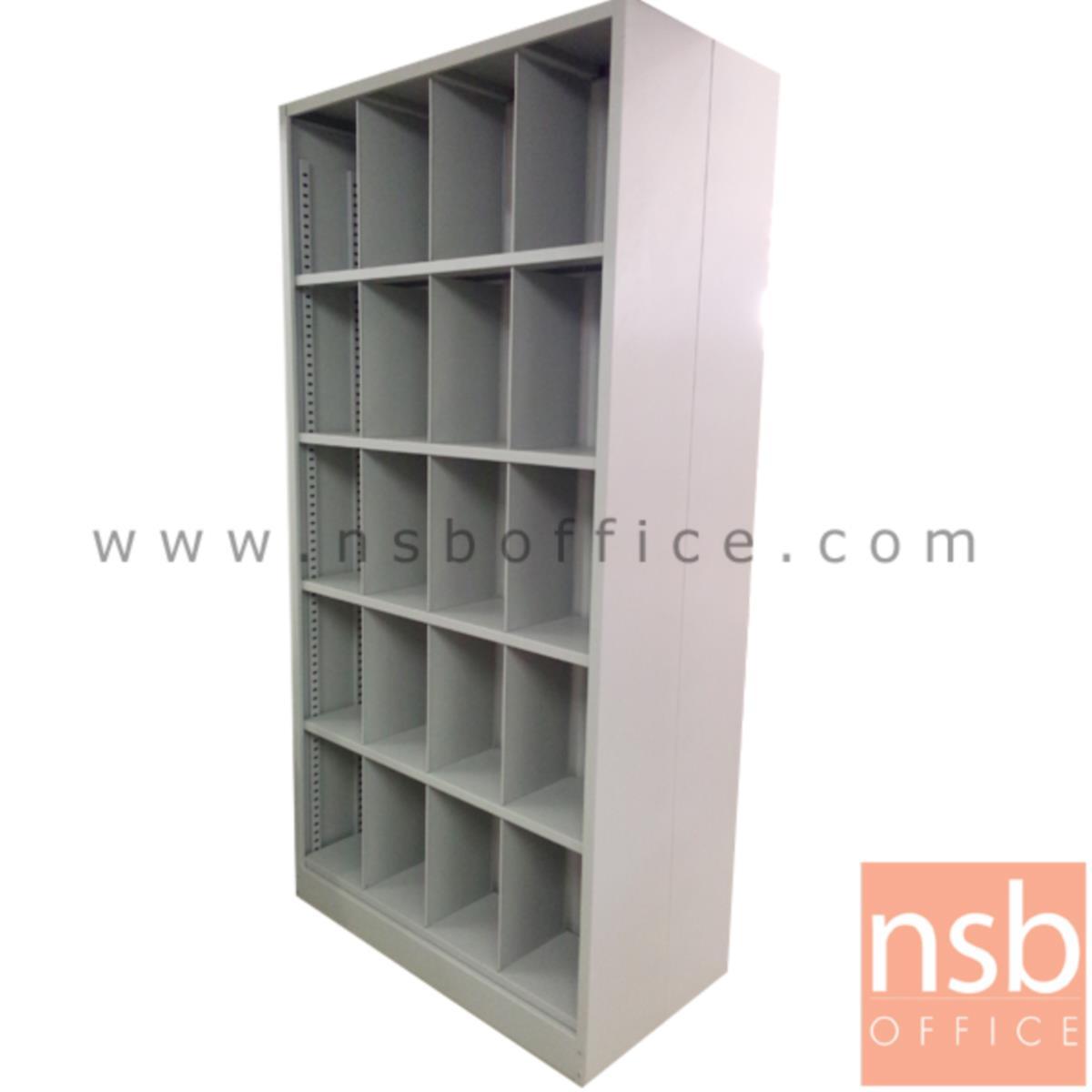 ตู้เก็บแฟ้มเวชระเบียน PRV 2 หน้า 5 ชั้น 40 ช่อง รุ่น NA-240 ขนาด 106.6W*213.5H cm.