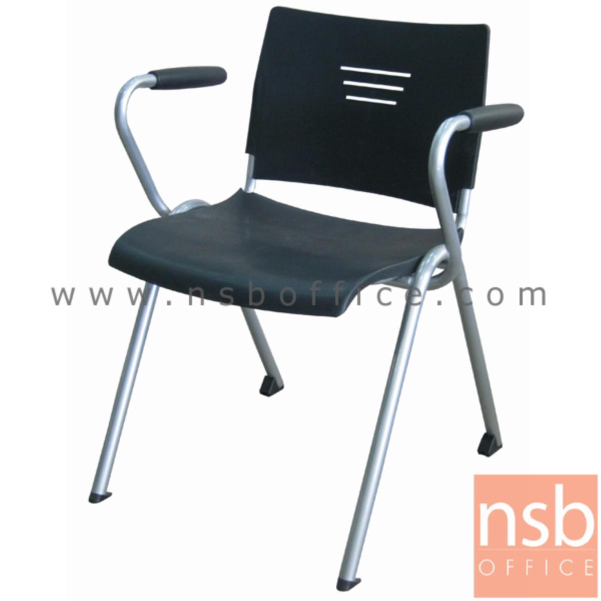 B05A131:เก้าอี้อเนกประสงค์เฟรมโพลี่ รุ่น Merlock (เมอร์ล็อก)  ขาเหล็กพ่นสี epoxy