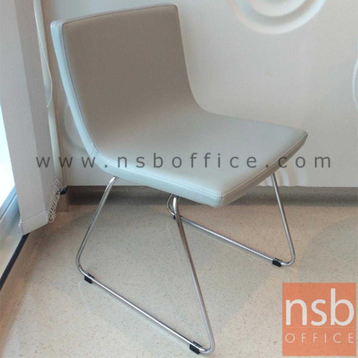 เก้าอี้รับแขกขาตัวยู รุ่น PS-UC  ขาเหล็กชุบโครเมี่ยม