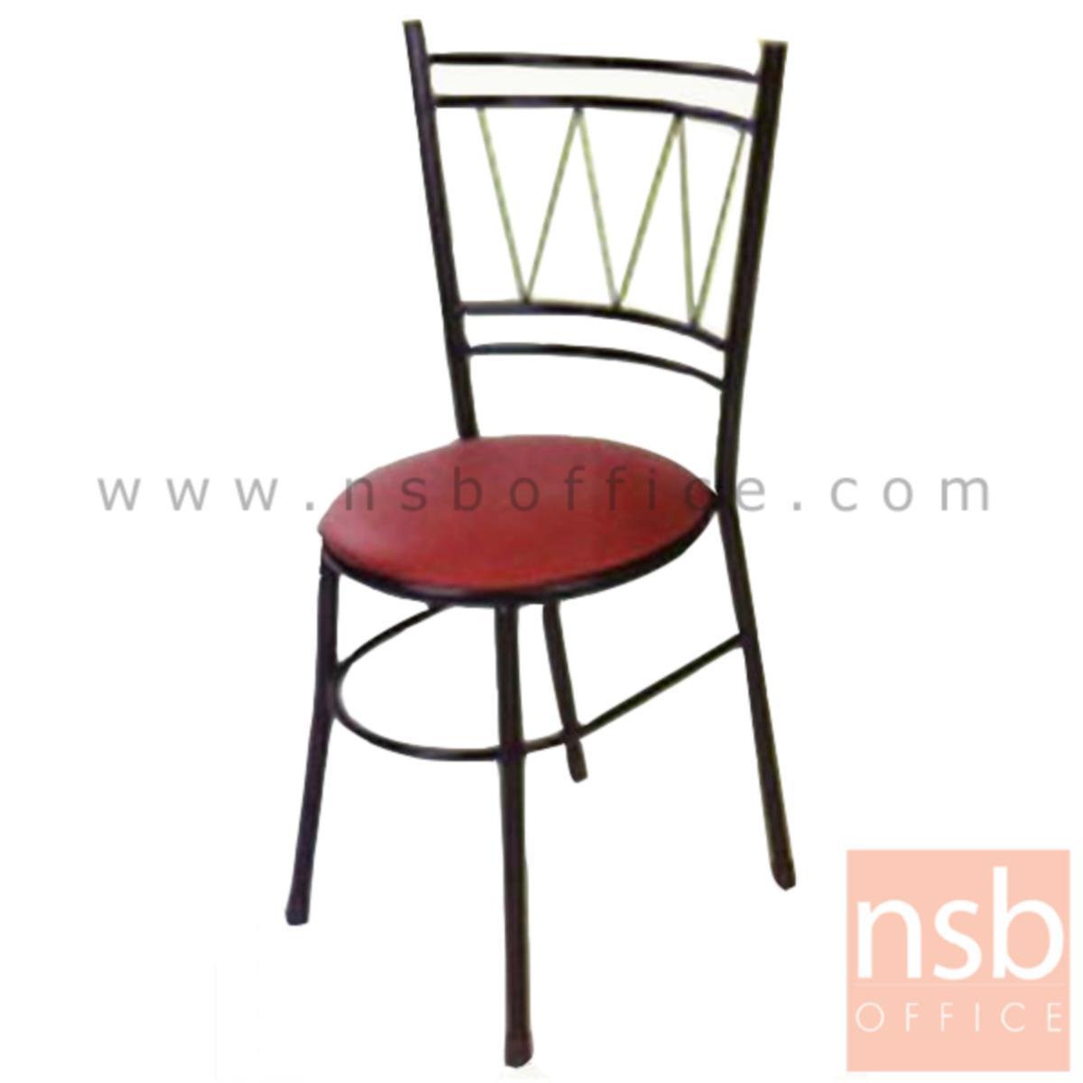 B20A102:เก้าอี้อเนกประสงค์เหล็ก รุ่น S053  ขาเหล็กพ่นดำ