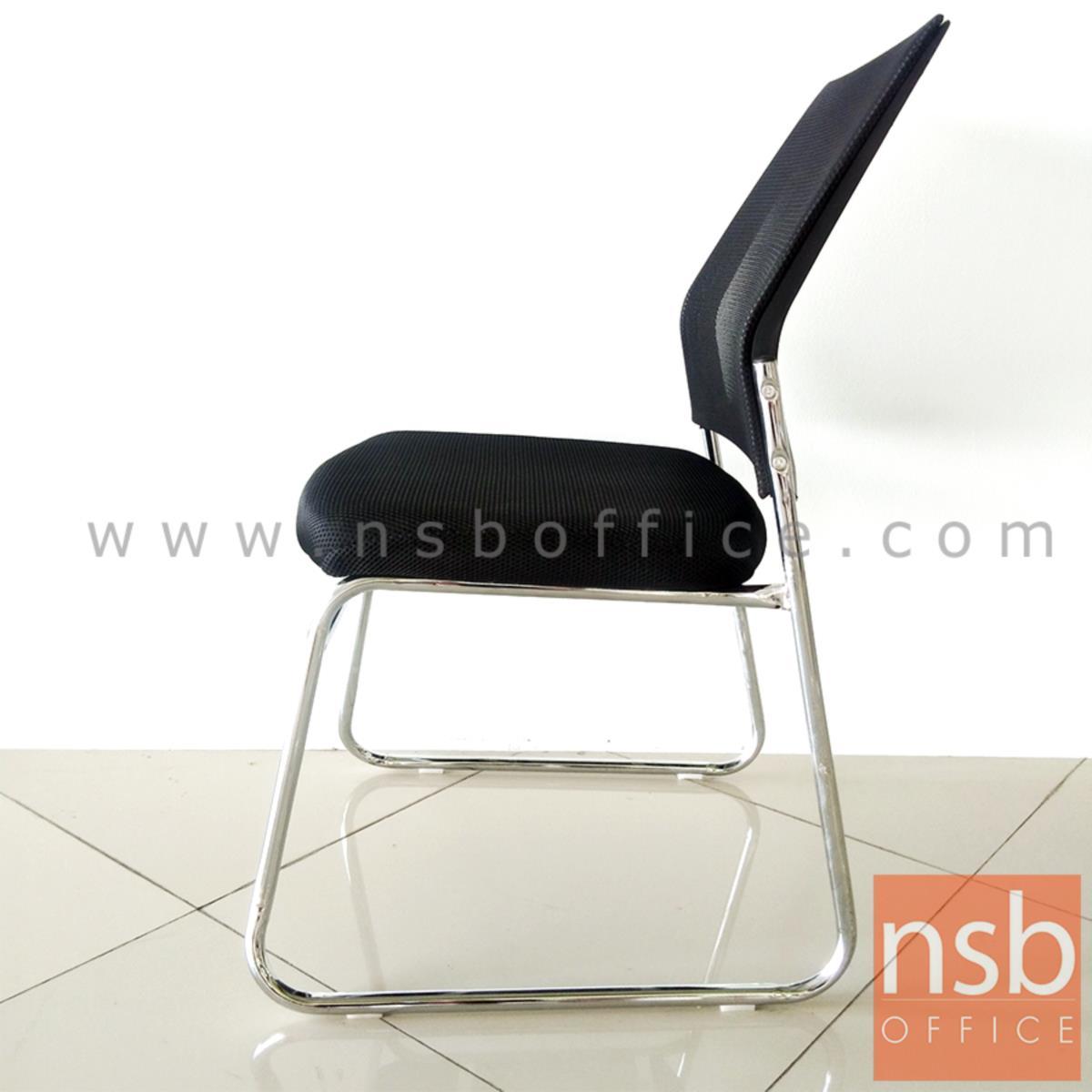 เก้าอี้รับแขกขาตัวยู รุ่น Aireen (ไอรีน)   ขาเหล็กชุบโครเมี่ยม