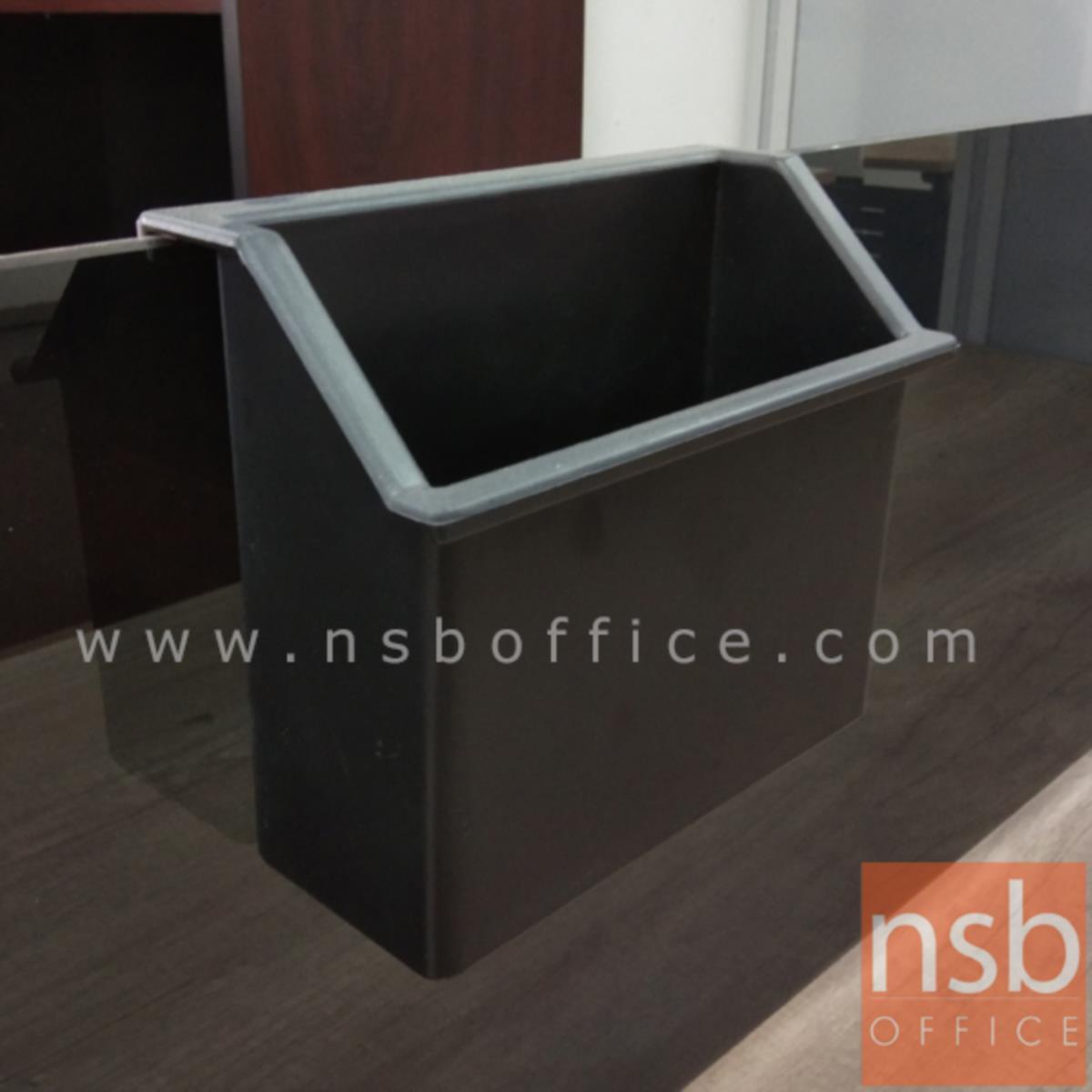 กล่องใช้แขวนกับขอบ miniscreen  รุ่น DCT-123 ขนาด 15W*13H cm. พลาสติก