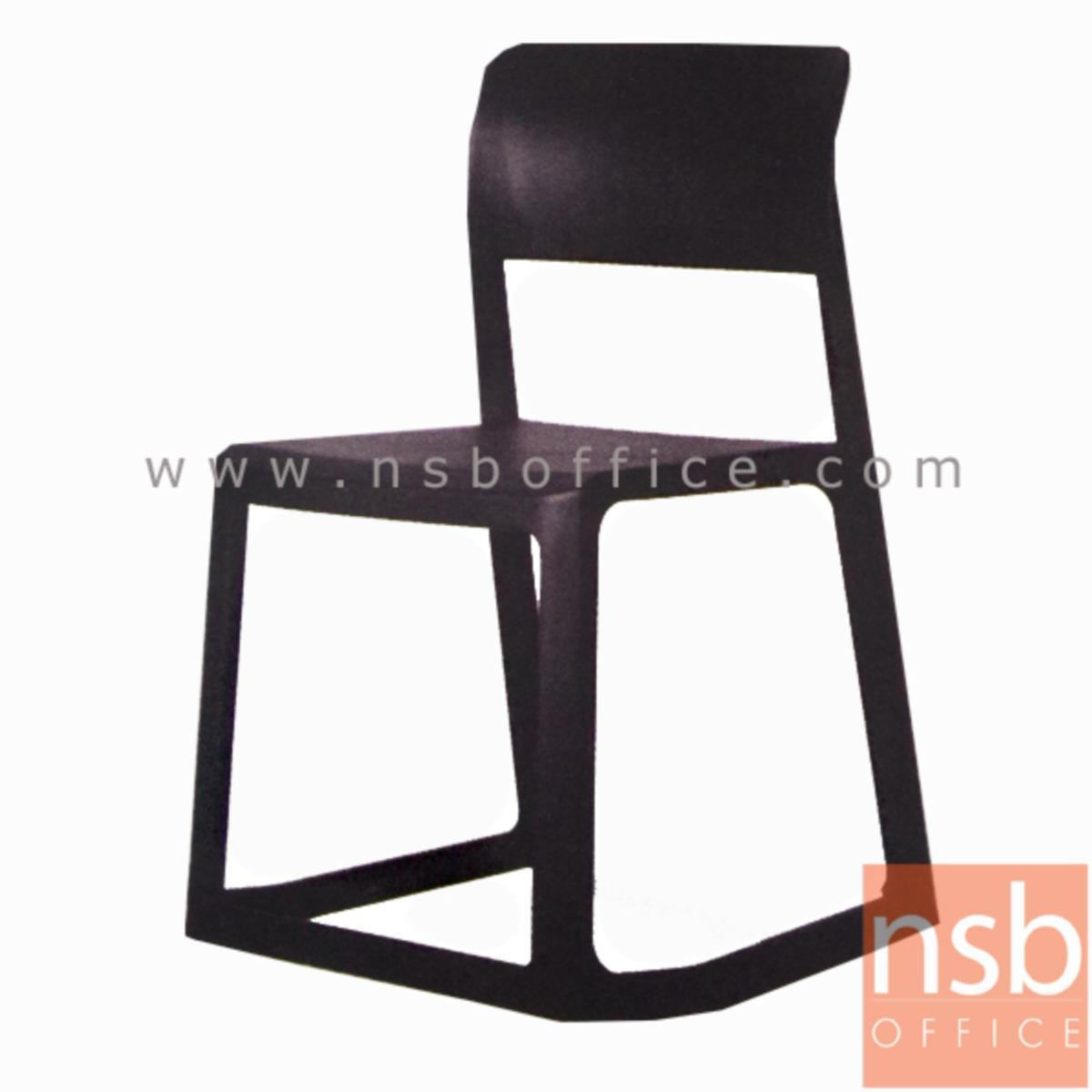 B29A185:เก้าอี้โมดิร์นพลาสติกโพลี่(PP)ล้วน รุ่น Jaecey (เจซีย์) ขนาด 48.5W cm.