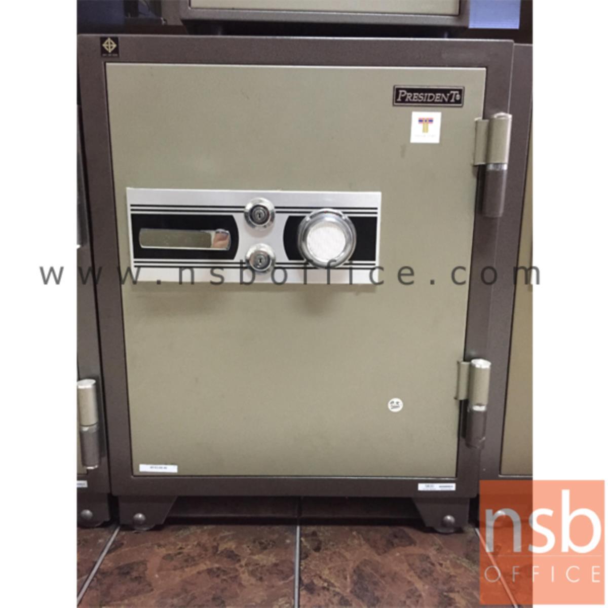 F05A013:ตู้เซฟนิรภัยชนิดหมุน 155 กก. รุ่น PRESIDENT-SB30 มี 2 กุญแจ 1 รหัส (รหัสใช้หมุนหน้าตู้)