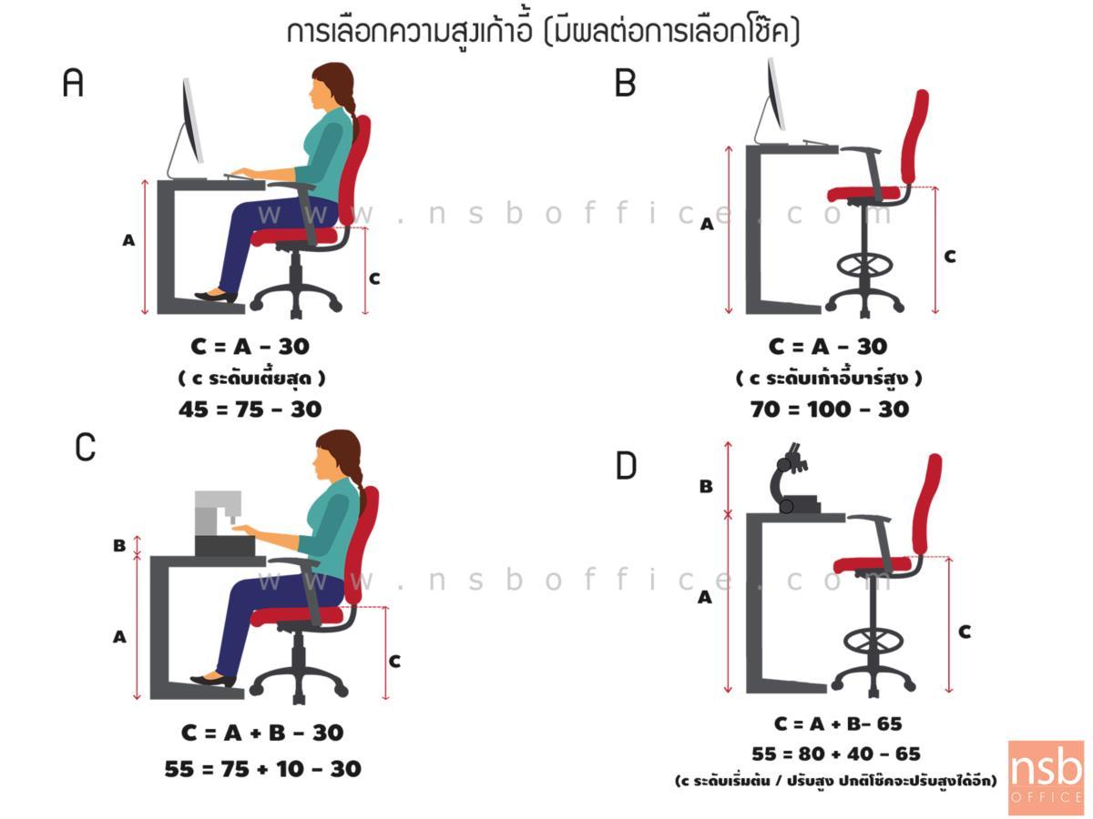 วงเหยียบพักเท้า สเตนเลส ขนาด 40Di, 45Di cm.  สำหรับใส่กับโช๊คแก๊ส (เพิ่มพักเท้าให้เก้าอี้บาร์)