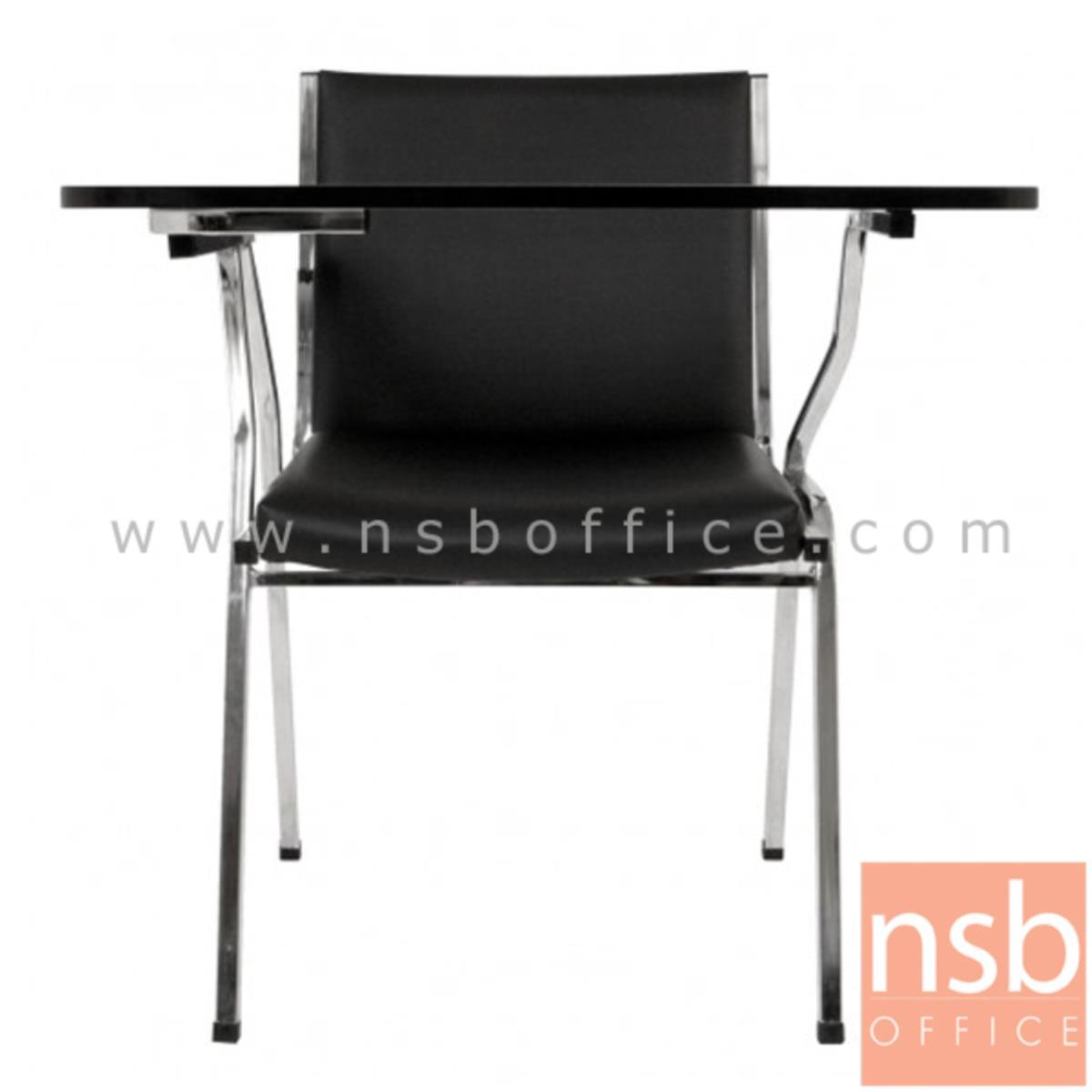 เก้าอี้เลคเชอร์ รุ่น PC-CLR40N ขาเหล็กชุบโครเมี่ยม