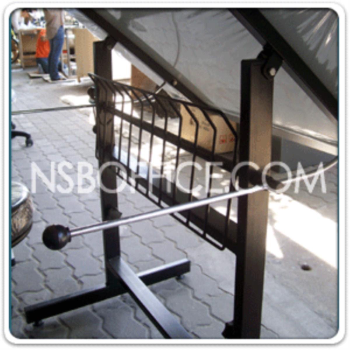 โต๊ะเขียนแบบ 119.4W*80D*95.3H cm.  รุ่น TD-02108  ปรับองศาได้ มีตะแกรงข้างใต้