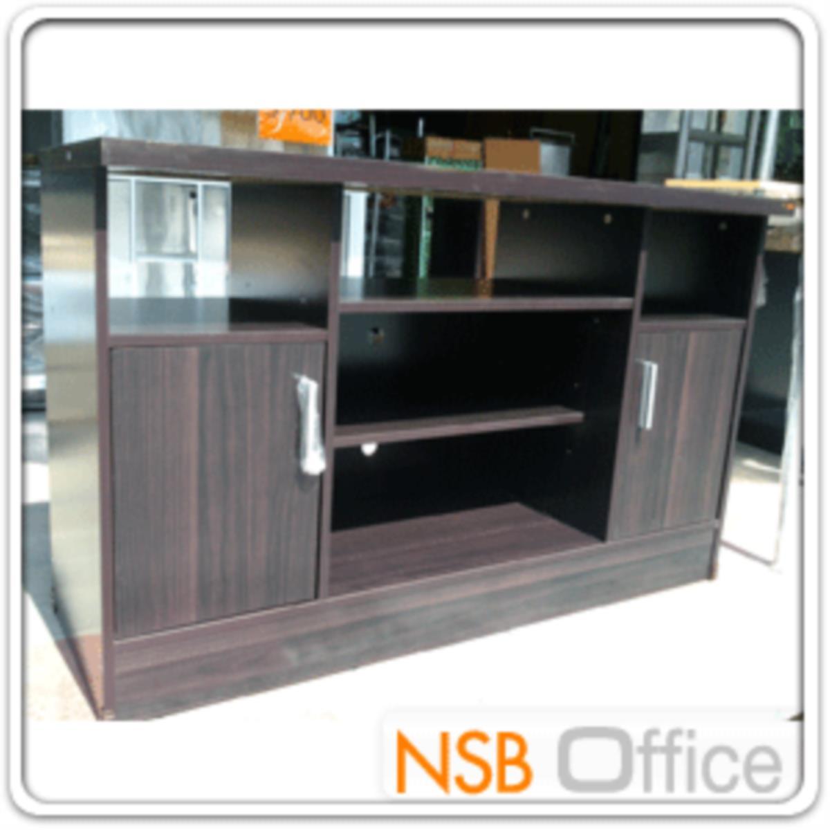 ตู้วางทีวีไม้  รุ่น NSB-8015  ขนาด 120W*76H cm.