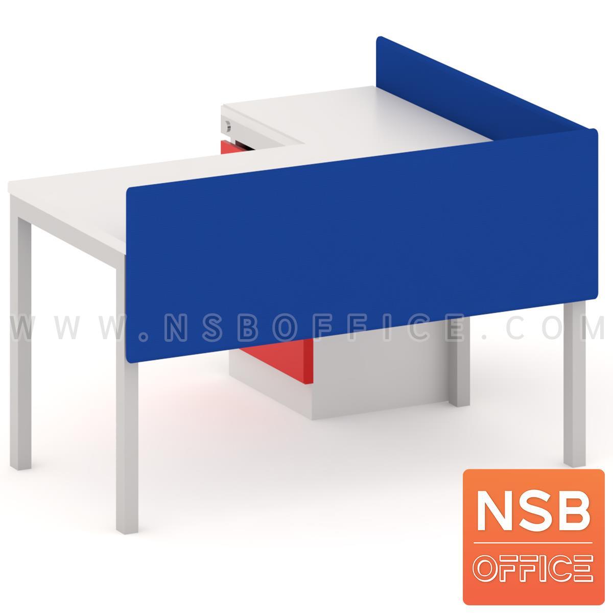 P04A024:แผ่นปิดหน้าโต๊ะหุ้มผ้า ขนาด 60W-240W*60H cm