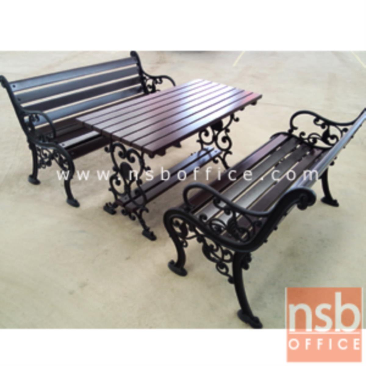 G08A044:ชุดโต๊ะสนาม พร้อมเก้าอี้ กทม. BKK-COT13 (โต๊ะ 1 + เก้าอี้ 2)
