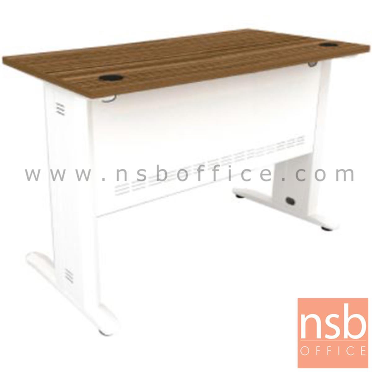 A34A006:โต๊ะทำงาน รุ่น Rosie (โรซี่) ขนาด 120W ,160W cm.  สีซีบราโน่-ขาว