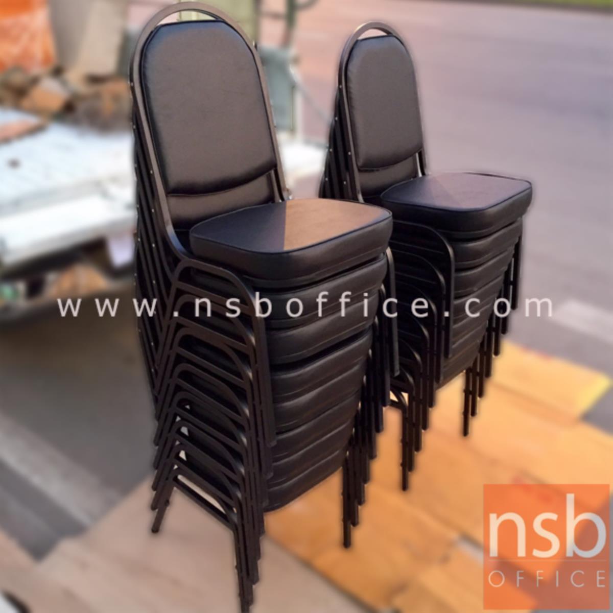 เก้าอี้อเนกประสงค์จัดเลี้ยง รุ่น CM-019-A ขาเหล็ก